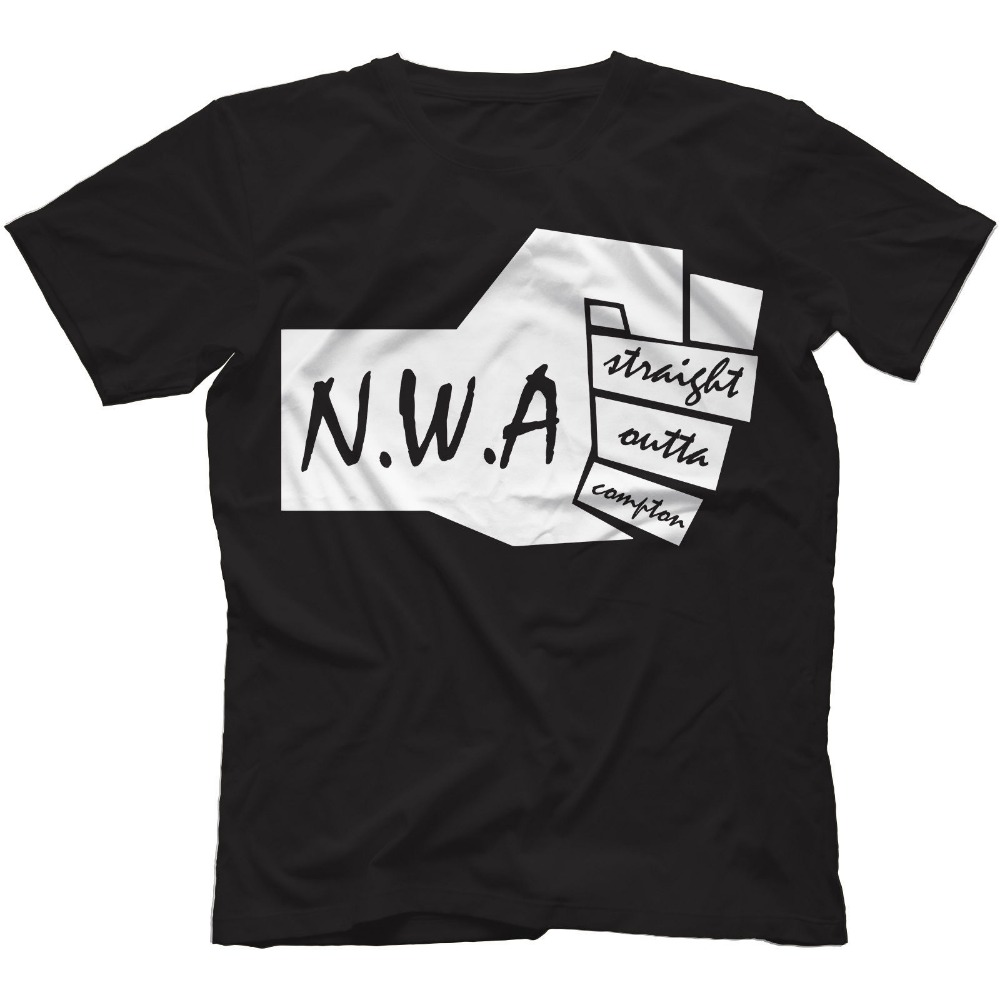 Design t shirt for group - Nwa Straight Outta Compton Men T Shirt Worlds Most Dangerous Group Ice Cube Dr Dre N W A Design 100 Cotton Top Tee Shirts S 3xl