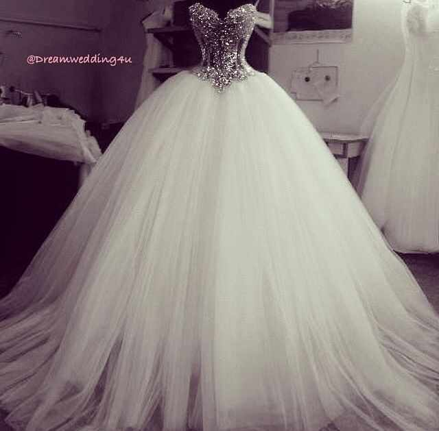 bc3d453454b Luxury 2019 Crystals Diamond Ball Gown Wedding Dress Off the Shoulder Tulle  Back Lace Up Vestido