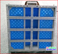 Аренды литья из светодиодов витрины, 51.2 см * 51.2 см, Литья алюминия, Супер тонкий, В аренду из светодиодов рамка дисплея коробка p4