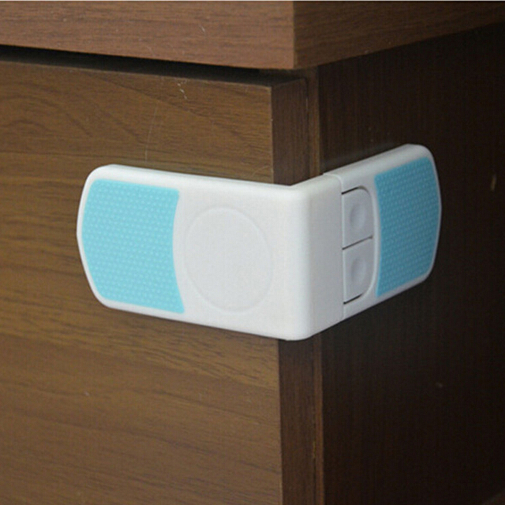 Child Security Baby Finger Protection Safety Plastic Cabinet Lock Baby Safety Door Drawer Lock Children Safety Lock