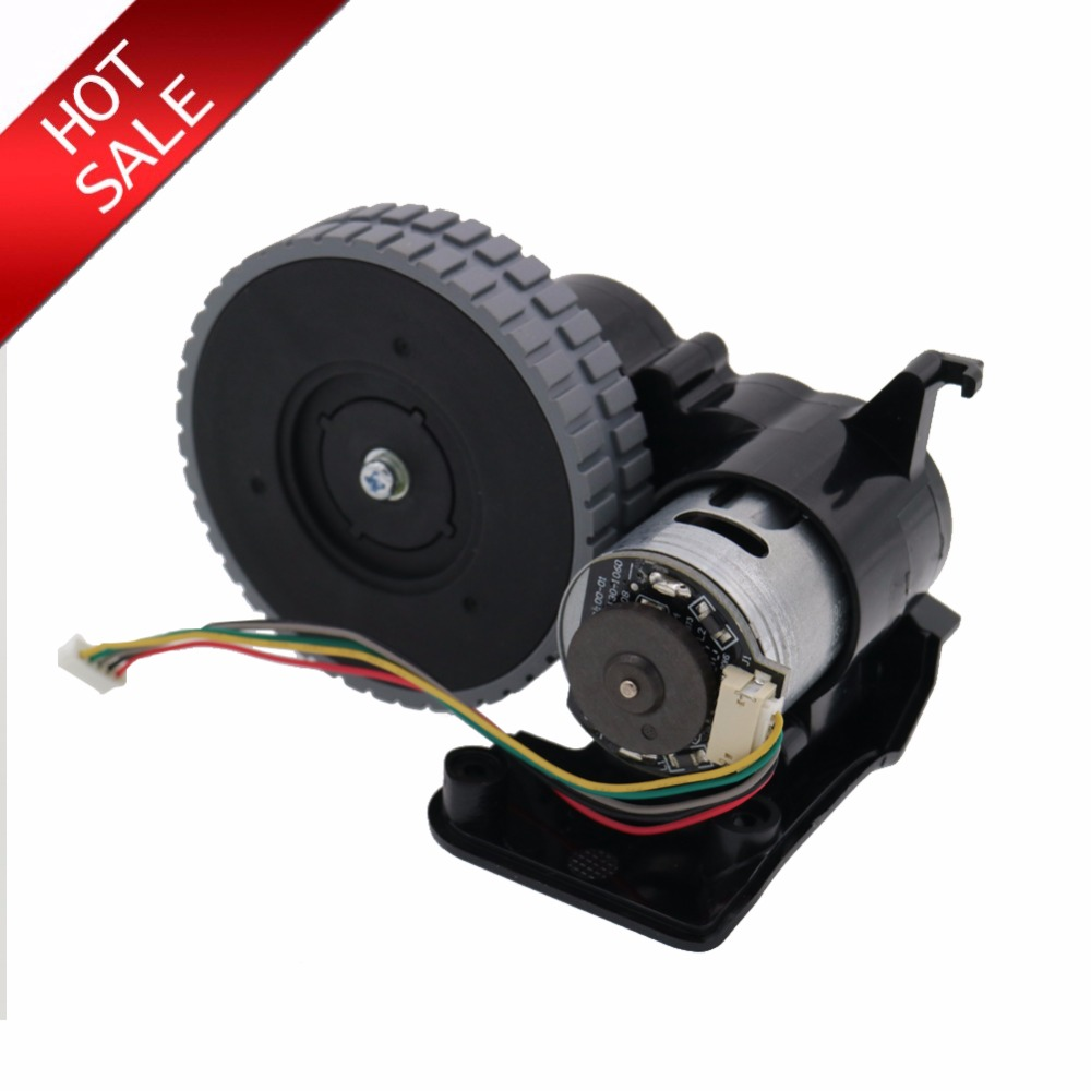 Original right wheel robot vacuum cleaner Parts accessories For ilife A4 A4s robot Vacuum Cleaner wheels motors 1 piece robot vacuum cleaner wheels including right wheel assembly replacement for a320 a325
