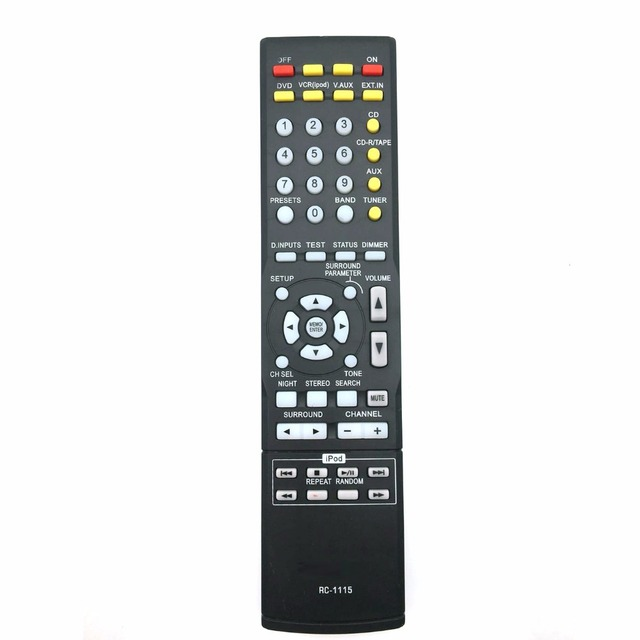 US $4 99 |remote control suitable for Denon AVR 1404 AVR 1804 AVR  2105/2106/150 AV Receiver-in Remote Controls from Consumer Electronics on