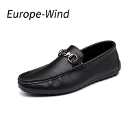 Europewind Handmade Leather Flats Men S Boat Shoes High Quality Loafers Brand Driving Shoes Male Classical
