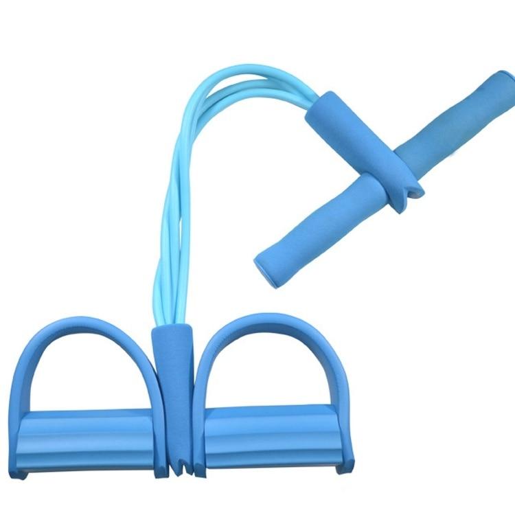 4 Resistanc Elastic Pull Ropes Exerciser Rower Belly Resistance Band Home Gym Sport Training Elastic Bands For Fitness Equipmen