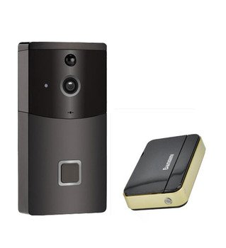 720P Motion Detection Long Time Standby WIFI Wireless Intercom Video Doorbell build in battery long time standby wireless wifi 720p ip doorbell intercom system