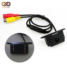Sinairyu Easy Installation Wide Viewing Angle 7 IR Night Waterproof Reversing Backup Reverse Vision Car Rear View Camera