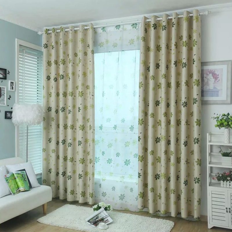 New Room Curtains For Kitchen The Bedroom Living Design Shade Panel Blackout Drapes Fabric In From Home Garden On Aliexpress