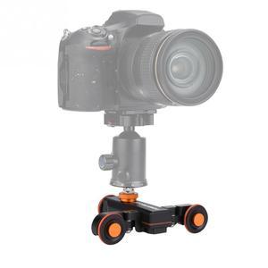 Image 4 - YELANGU L4X מיני ממונע חשמלי מסלול מחוון מנוע דולי משאית רכב w שלט רחוק למצלמה למצלמות DV עבור Canon מצלמה