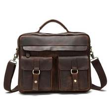 Senkey type Genuine leather-based males messenger shoulder bag for males crossbody bag luxurious purses males luggage designer well-known briefcase