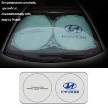 2019 Car Windshield Sunshades Snow Ice Frost Shield for HYUNDAI Cover Automobile Front Rear Window Screen Visor