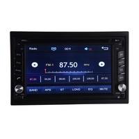6.2 inch universal 2DIN Car DVD multimedia HD player car GPS navigator AV system CD TV player Bluetooth voice call radios