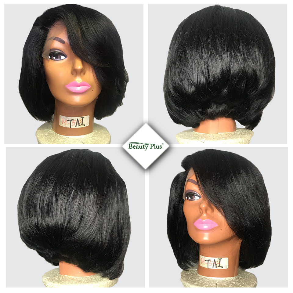 Brazilian Straight Human Hair Bundles med Closure Beauty Plus 4 - Skønhed forsyning - Foto 2