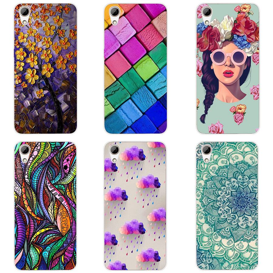 For HTC 626 5.0 inch Case Painting TPU Soft Silicone Back Cover Case For HTC Desire 626 626G 62