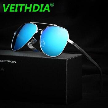 VEITHDIA Original Brand Logo Designer Polarized Sunglasses Men Driving Goggles 2018 Sun Glasses Eyeglasses Accessories 3598