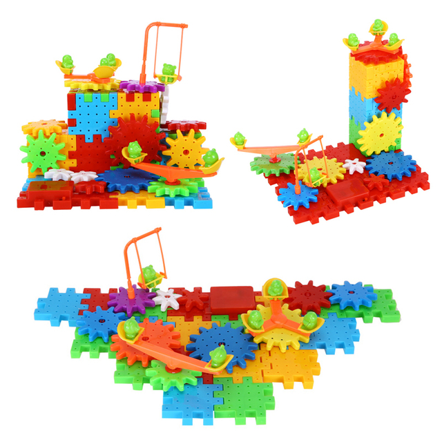 Electric Gear Puzzle Educational Machine