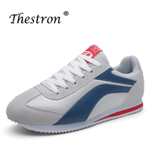 Popular 2019 Men Elastic Fabric Flats Shoes Fashion Casual For Mens Rubber Sole Sneakers Autumn Young Footwear