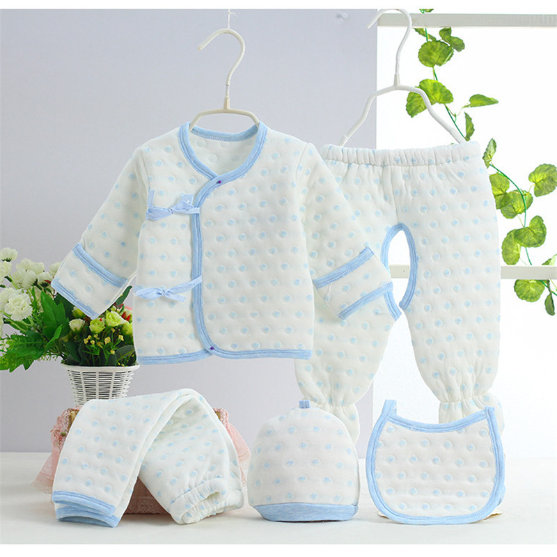 0-3M Newborn Newborn Baby Set 5pcs Set Cute Giraffe Infant Clothing Set 100% Cotton Brand Boy Girl baby clothing set SKB03 (13)