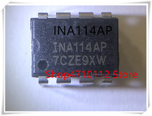 NEW 10PCS/LOT  INA114AP INA114 DIP-8 MODULE IC