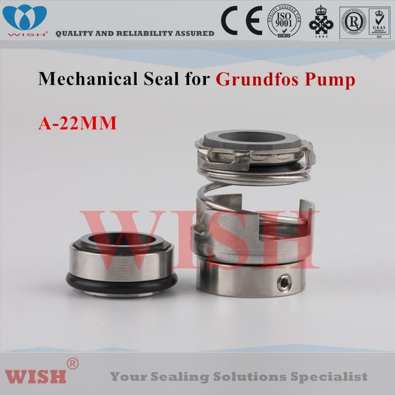 Joint mécanique Grundfos de 22 MM