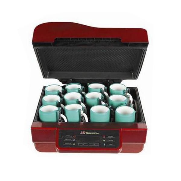 3d vacuüm warmte drukmachine met multiticolor voor telefoon case/t shirts/lade - 4
