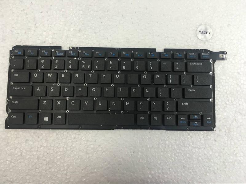 Novo teclado dos eua para dell vostro 14z 5460 v5460 5460d 5470 5439 teclado do portátil inglês
