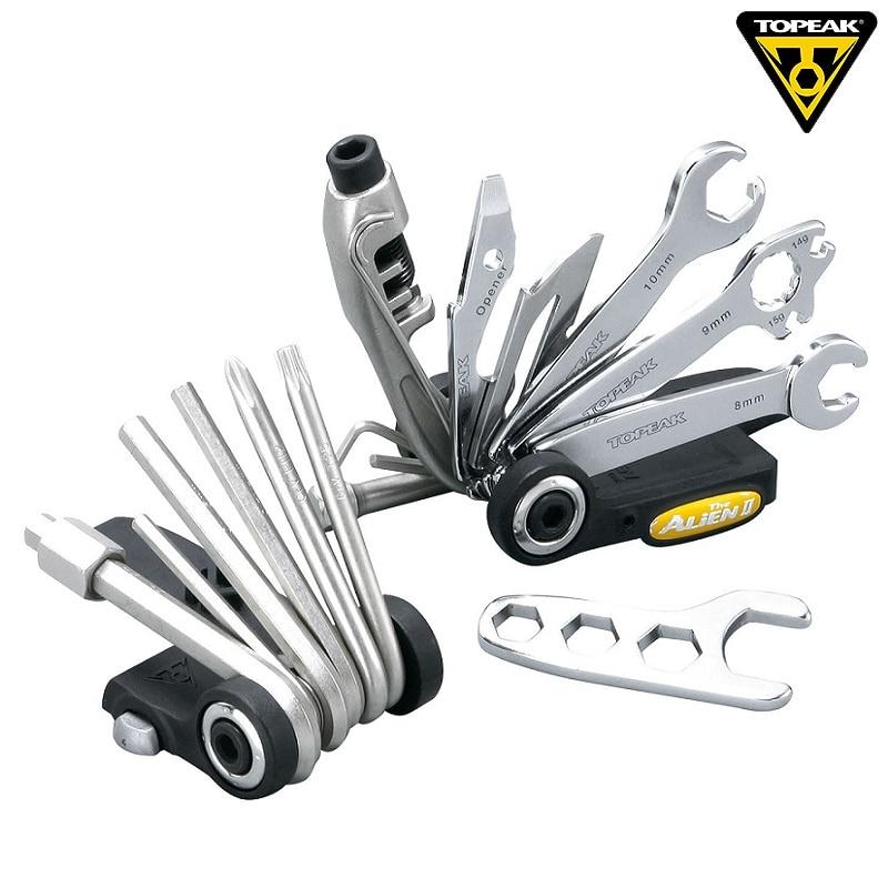 Topeak TT2353 ALiEN II Bicycle Multi Function Tool Kit Road Bike Reapair Wrench Tool Set MTB Cycling Combination Ultimate Tool