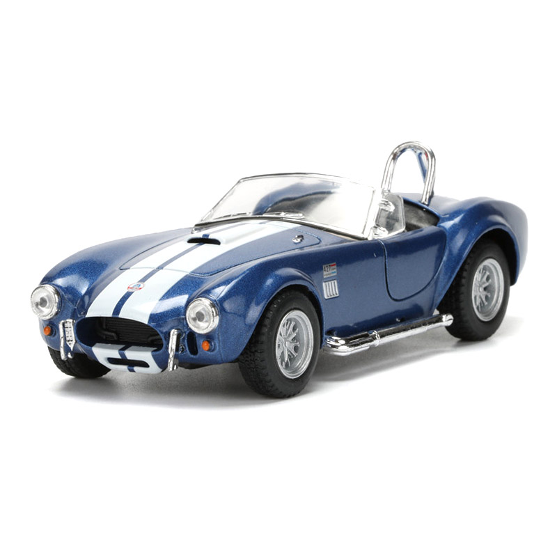 1:32 Alloy Convertible Car Model Toy Shelby Cobra Simulated Cabriolet Pull Back Boy Cars Kids Toys а м shelby cobra 427 s c 1 24
