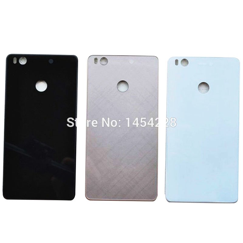 BINYEAE New Original Glass Battery Cover For Xiaomi 4S Mi 4S Rear Housing Back Case Door For Mi4S Replacement Part+Logo|door back|case cover|case for phone - title=