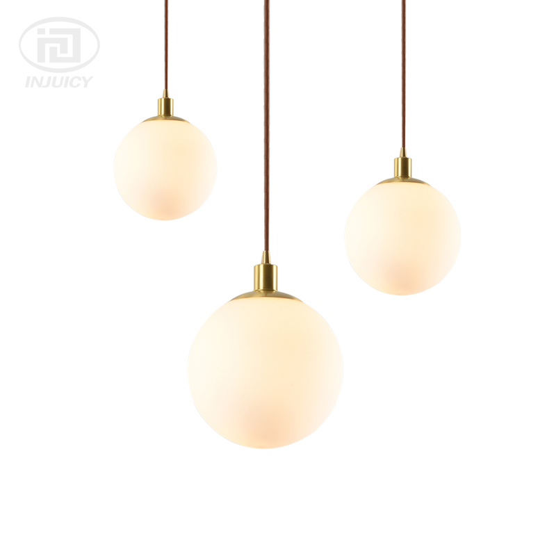 Modern LED Copper Glass Ball Ceiling Lamp Globe Molecular Brass Single Head Pendant Lights for Coffee Restaurant Living Room сандалии betsy сандалии