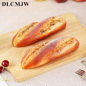 Artificial Foods Fake Bread Bakery Photography Props Decor Soft Simulation Bread Cheese Squishy Food Model Soft Cake Decor Props