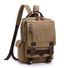 High Quality Men Canvas Multi-color Sling Backpack Crossbody Shoulder Bag Travel Hiking Chest Rucksack Backpacks
