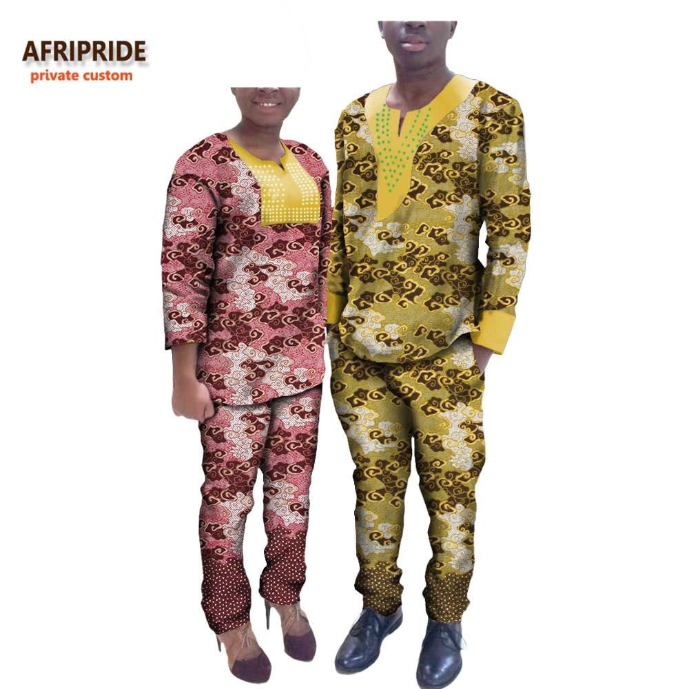2017 בסתיו זוג בגדים AFRIPRIDE אישית אישית - בגדים לאומיים
