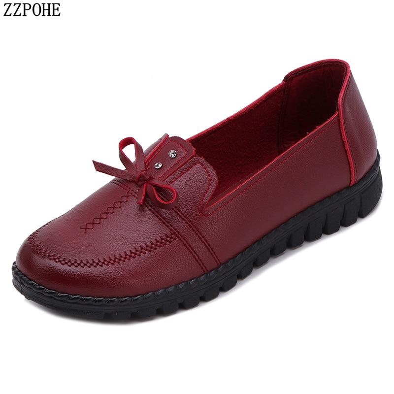 ZZPOHE Women Flats Shoes 2018 Fashion Le