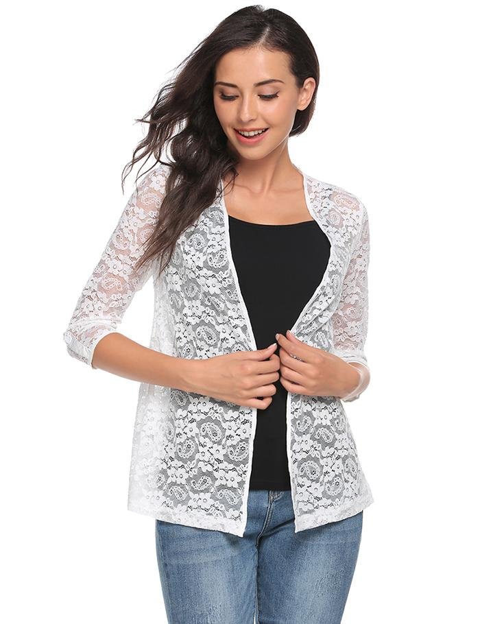 Detail Feedback Questions about ANGVNS Brand Knit Bolero Shrug Lace ... 739236bb5471