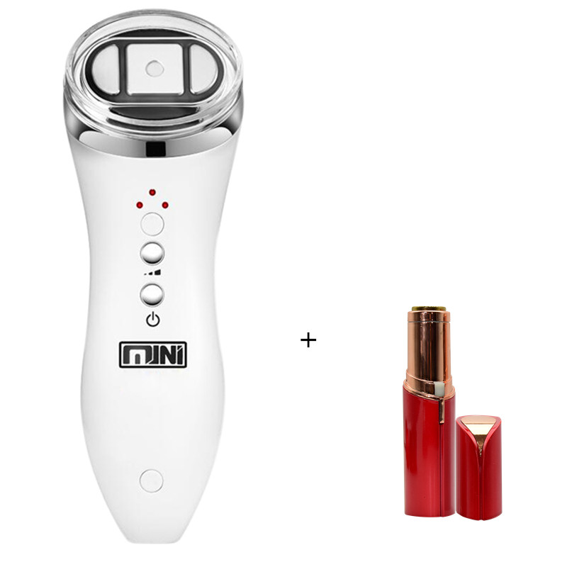 Ultrasonic Mini HIFU Skin Rejuvenation RF face Lifting Beauty Therapy High Intensity Focused Ultrasound Skin Care Device ultrasonic mini hifu high intensity focused ultrasound facial lifting machine face lift rf led anti wrinkle skin care spa beauty