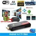 MK809IV RK3188T Quad Core Mini PC Android TV Box Wifi 2GB 16GB Bluetooth Google TV Player HDMI  MK809IV TV Stick + Keyboard