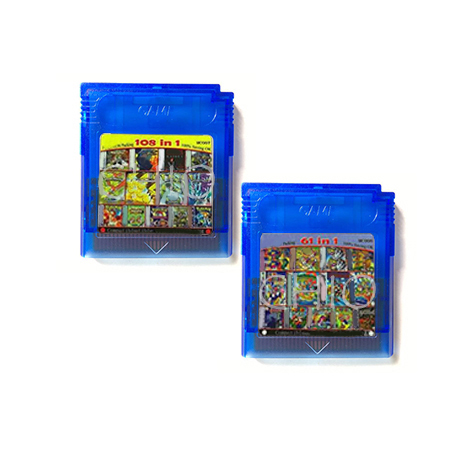 Console-Card Cartridge Video-Game-Console 16-Bit Handheld Compilations Multi Golden-Coins