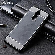 AKABEILA Case For Huawei Mate 10 Lite Silicone Nova 2i Cover Anti-Knock Brush TPU Soft Shell G10 Honor 9i Black