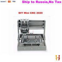 NO TAX TO Russia Mini CNC Machinery 2020 Pcb Pvc Milling Machine Frame Without Motor