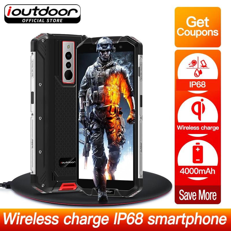 ioutdoor Polar3 2019 New Waterproof IP68 Smartphone Wireless Charging 5.5 Inch Quad Core 3GB + 32GB NFC Android 8.1 Mobile Phone smartphone
