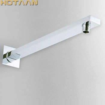 Free Shipping 38cm Length Conseal Install Shower Fixed Connecting Pipe Wall Mounted Arm For Head Accessory - discount item  15% OFF Bathroom Fixture