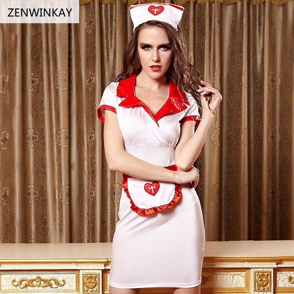 Vrouwelijke Rollenspel Sex Wear voor Vrouwen Sexy Lingerie Halloween Erotische Kostuums voor Vrouwen Cosplay Sexy Vrouwen Verpleegkundige