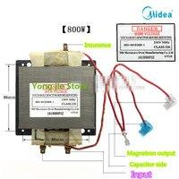 Oryginalna MD 801EMR 1 transformatora mikrofalowego 800W może zastąpić MD 801/701 słowo na początku modelu w Części do kuchenek mikrofalowych od AGD na