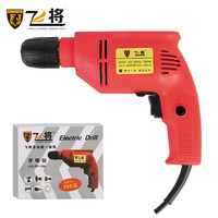 Creative hand drill multifunctional household 10MM adjustable speed electric tool electric drill power tool include Accessories