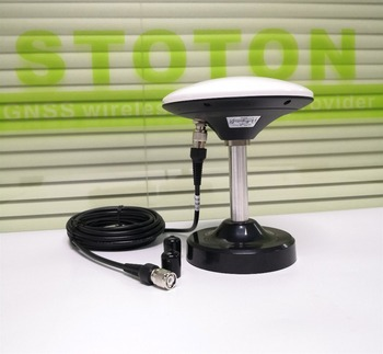 Seven-frequency GNSS antenna,GPS/Glonass/Beidou,RTK receiver antenna,GN-GGB307, 5m TNC-TNC cable,Magnetic base
