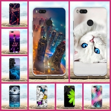 Luxury For Xiaomi Mi 5X Case 3D Cute Cat Fundas Coque For xiaomi mi a1 Phone Case Mi5X mia1 Cover Soft Silicone TPU Bags Shell