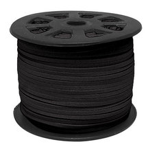 цены Free Shipping 100Yds Black  faux suede cord, 3mm, Black faux suede cord for bracelets 3mm
