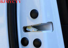 BJMYCYY 12PCS/SET Automobile door screw protection cover for Mazda CX-5 CX5 2017 2018