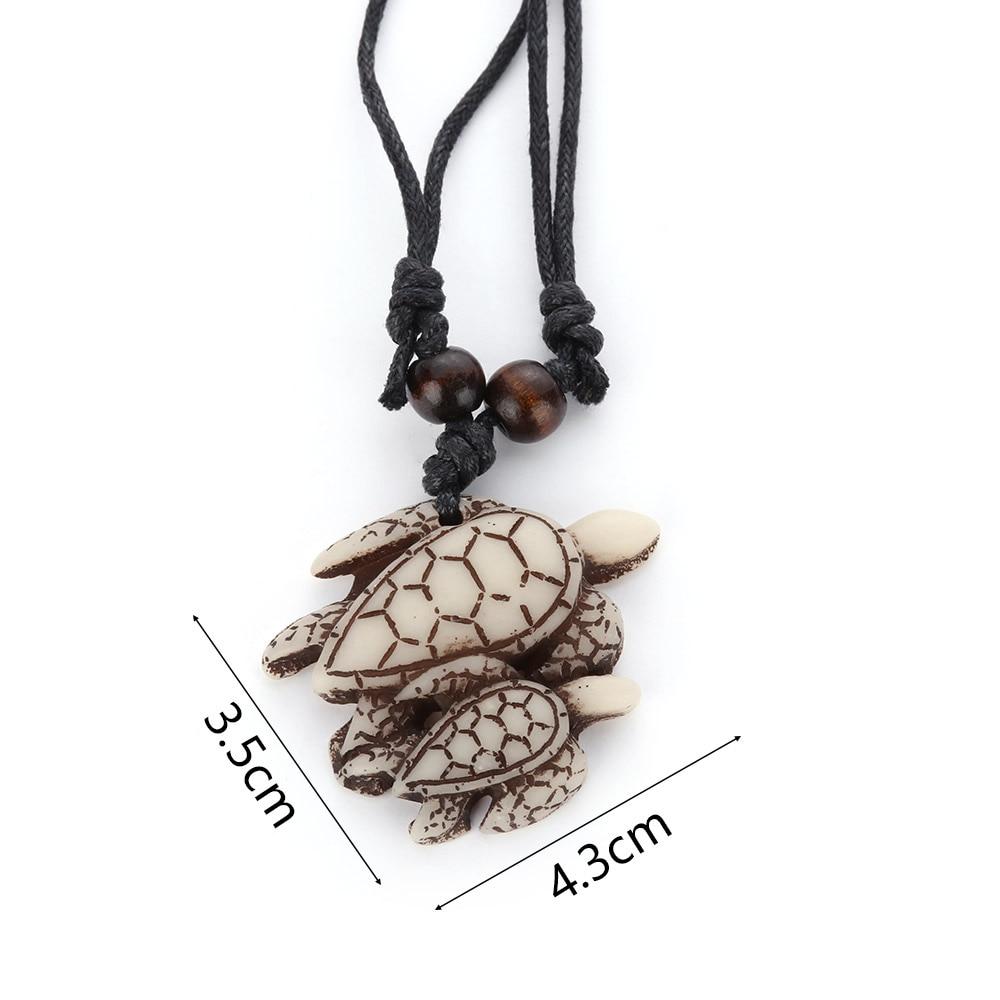 Sea Turtle Pendant Carved Multiple Options Necklace Imitation Bone Innovatis Suisse Ch