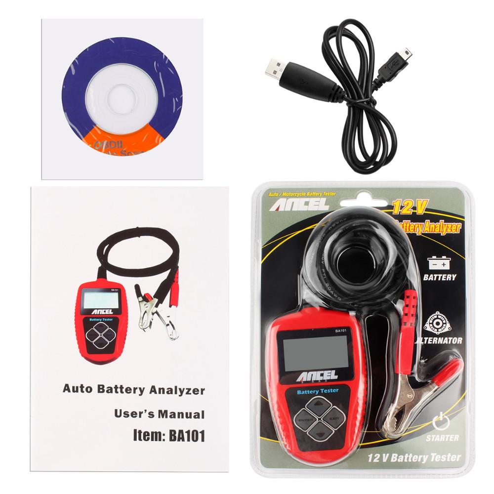 12V Car Battery Tester Ancel BA101-17